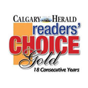Calgary Readers Choice Award
